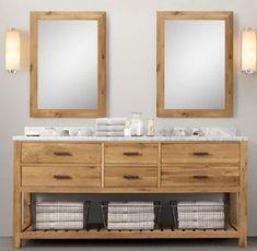 Restoration hardware style bathroom vanities restoration - Preston hardware bathroom vanities ...