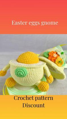 Newborn Crochet Patterns, Easter Crochet Patterns, Loom Patterns, Crochet Patterns Amigurumi, Handmade Ideas, Handmade Decorations, Handmade Gifts, Knitting Toys, Knitting Ideas