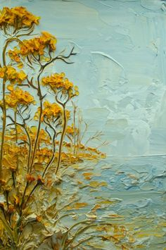 Justin Gaffrey -- gorgeous colour and texture: