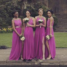 10 tons de roxo para o vestido das suas madrinhas | OMC