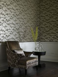 Linwood Wallpaper (source Linwood) / Wallpaper Australia / The Ivory Tower