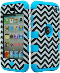 JUSTING@Black & White Chevron Pattern Hybrid Hard Case for Apple Ipod Touch 4, 4th Generation with Free Screen Protector+Stylus Pen (blue) JUSTING,http://www.amazon.com/dp/B00F5OXYR2/ref=cm_sw_r_pi_dp_QSX1sb01G5AMK8D6