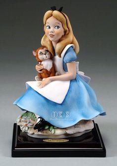Giuseppe Armani Alice In Wonderland 2203C Open Edition Porcelain ...