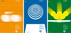 Olympic poster design proposals for London 2012 - Alan Clarke