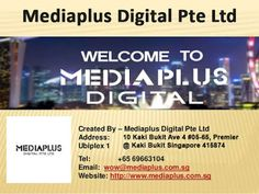 MediaPlus Digital Pte Ltd is the trusted choice when looking for #webdesign, #webdevelopment, #SEO, #SMO, #PPC and online marketing services across #Singapore. With the majority of our clients getting #website #designs and #development completed in 3-4 weeks we can help your business get on the online in very quick time.
