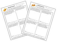 Puzzling Problems for Fall Freebie - Two levels of word problems on Corkboard Connections