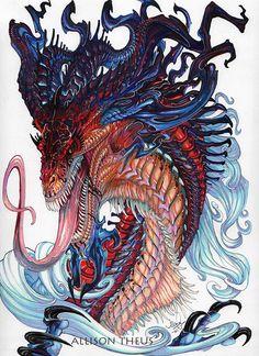 Dragon by beastofoblivion on DeviantArt