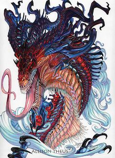 Dragon by beastofoblivion on DeviantArt