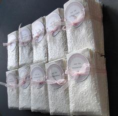 Nur für Freudentränen, 100 Tütchen geprägt von  KW16 auf DaWanda.com