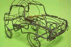 Lessons from Africa. Challenge the kids to make their own games and toys as they do in Africa. A wire car. A plastic football. Games with sticks and stones. Dance Project, Push Toys, Wire Crafts, Art Lesson Plans, Wire Art, Good Old, Art School, Art Lessons, Toys