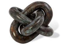 "6"" Wynn Knot, Verdig"