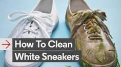 How to Clean White Sneakers with Jim Moore on video.gq.com