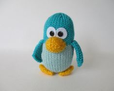 Cricklewood Owl toy knitting patterns by fluffandfuzz on Etsy