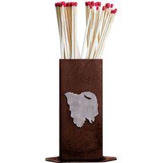 Buffalo Match Stick Holder