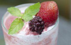#Smoothie de bayas congeladas #Recetas fresquitas para este #verano