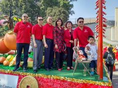 CSC Board of Directors on the Chinatown Float 2016!