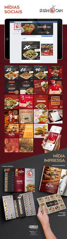 #social #media #mídia #facebook #post #instagram #insta #design #art #web #behance #sushi #japanese #food