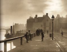 Pier Road - Whitby - North Yorkshire - England - Late 1800s