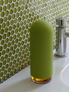 Green Bathroom Surface #Design
