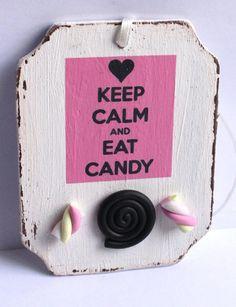 ♡ ♡  Shabby chic cartel de madera hechos a mano colgada en la puerta