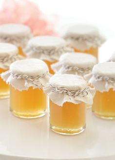 """""""Meant to Bee"""" Personalized Clover Honey (Set of 12) Original Unit Price: As low as $2.00 Sale Price: $1.70 (15% off) http://favorcouture.theaspenshops.com/Personalized-Clover-Honey.html"""