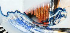 "Saatchi Art Artist Jessica Slater; Painting, ""Mapped"" #art"