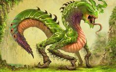Fantasy Monster Wallpaper