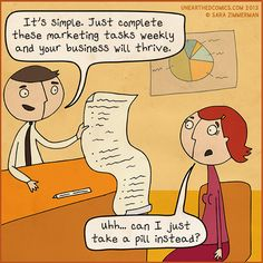 #Marketing pill #MarketingHumor
