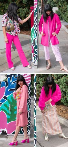 2b8625f7bf Color Adventures: Oh Color Combos, One Color, Fashion Design, Outfits, How