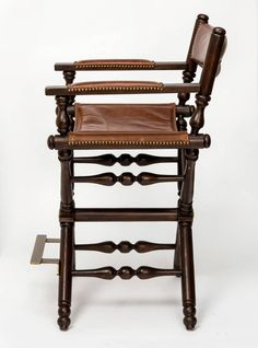 Pair Of Leather Directors Chairs | From A Unique Collection Of Antique And  Modern Armchairs At