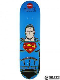 dc3e113e7e51ed Almost Mullen Superman Mid Deck 7.5 x 29.3