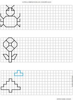 Dibujos en Cuadricula