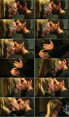 "Emma and Hook - 4*4 ""The Apprentice."" #CaptainSwan"