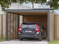 Carport • modern • hout • www.collstrop.be # livios.be
