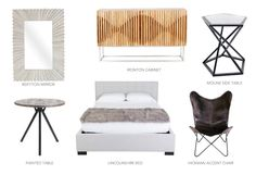It's all about mixing styles in 2017. Check out this urban mid-century modern collection.