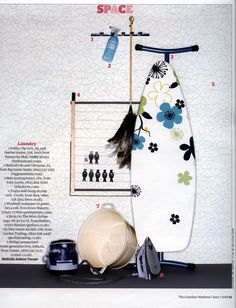 The Guardian Weekend. Erica Wakerly 'Windmill' Wallpaper Black/White.