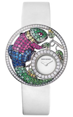The Jewellery Editor hosted an afternoon with diamond watches at SalonQP, the premiere watch show in the UK held in the Saatchi Gallery.