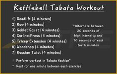 30-Minute Kettlebell Tabata Workout | ACTIVE