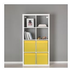 "DRÖNA Box - yellow - IKEA, $5.99/each.  13"" x 15"" x 13"""