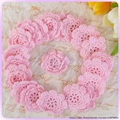 How to Make Crochet Flower for Framing | www.FabArtDIY.com LIKE Us on Facebook ==> https://www.facebook.com/FabArtDIY