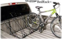 Click Image Above To Purchase: Advantage Bedrack Truck Bike Rack - Truck Bed Bike Racks - Advantage Sportsrack Truck Bed Bike Rack, 4 Bike Rack, Car Roof Racks, Ski Rack, Bike Holder, Freestanding Bike Rack, 4 Bike Carrier, Avalanche Truck, Chevy Chevrolet