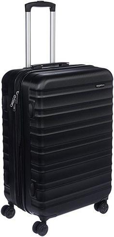 Amazon.com: AmazonBasics Hardside Spinner Luggage - 24-inch, Burnt Orange: Clothing