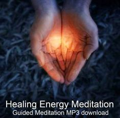 Healing Energy Meditation  This lovely guided qigong standing meditation talks you through the healing process of building energy between your hands and then using it to refresh your entire body. A wonderful way to start your day, or recharge and release tension before settling down for the evening. ♥ ♥