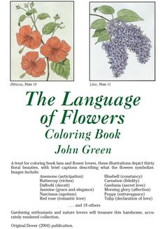Welcome to Dover Publications -- THE LANGUAGE OF FLOWERS