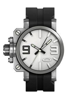 Oakley  Gearbox with Unobtainium Strap Watch