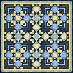 Wilma Karels' website has a great collection of quilts created in EQ6, she also shares her patterns and arrangement variations