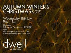 dwell Autumn Winter Press Day Invite 2012