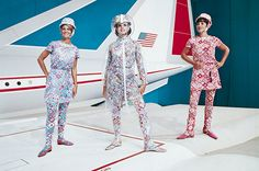 The Chic Race - Virgin America's New Uniforms: A 75-Year History of Fashion In Flight - TIME