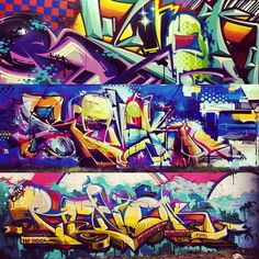 """@theseventhletter's photo: """"#Revok @sssickassturdburglar #theseventhletter #graffiti #art"""""""