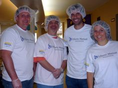 2013 Serve with Liberty volunteers